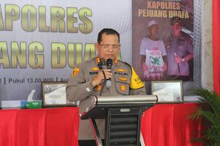 Dr. Perapat Gultom: Buku Kapolres Pejuang Duafa Berceritra Pemimpin Power and Heart