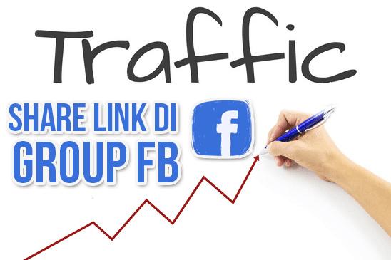 Naikkan Trafik Blog dengan Share Link di Group Facebook