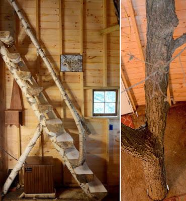 casita del árbol fantástica