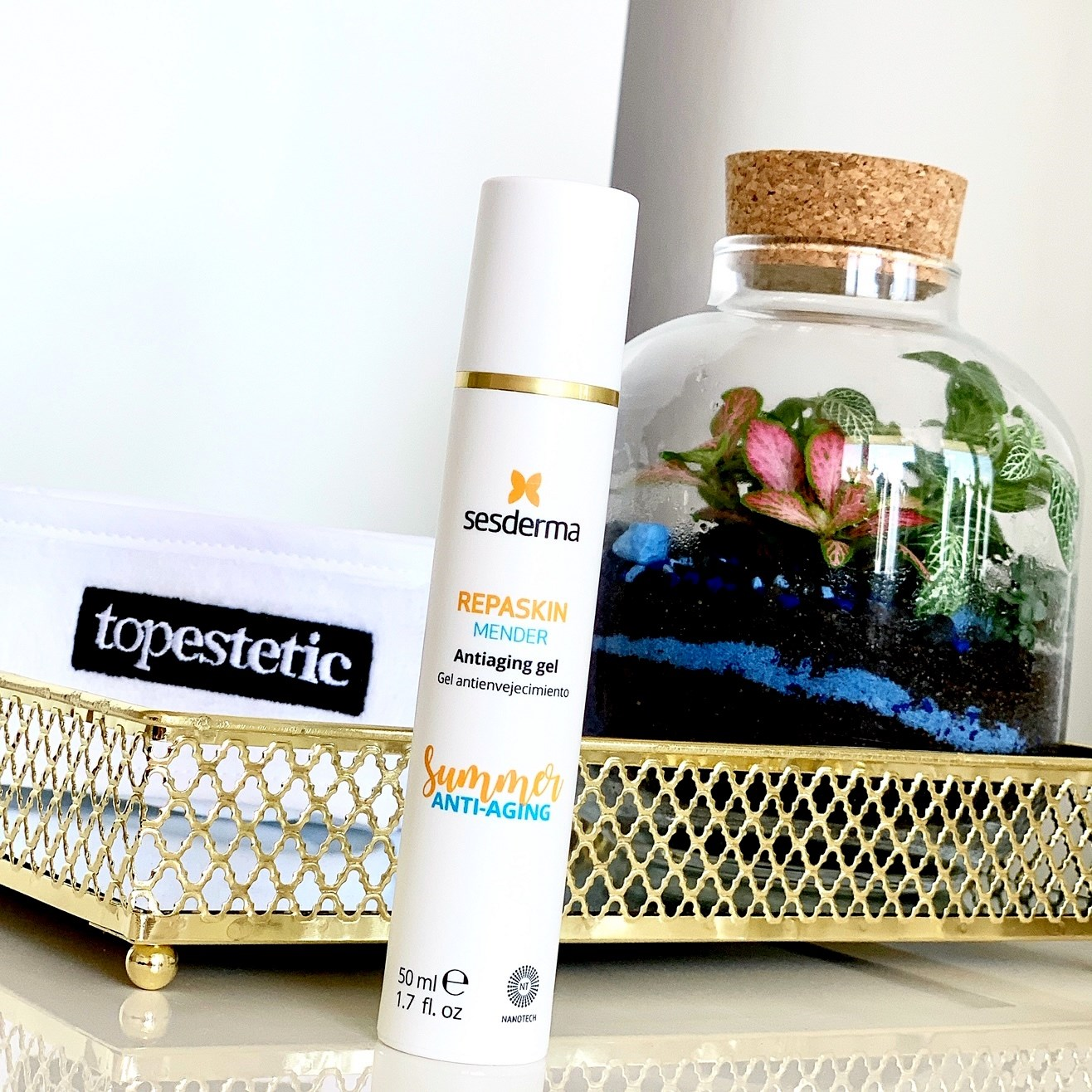 Sesderma Repaskin Mender Antiaging Gel blog