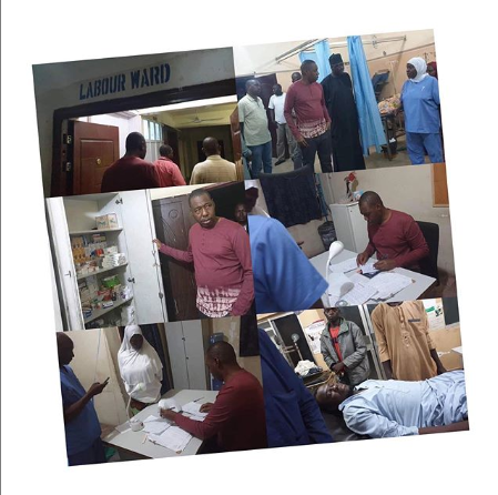 Doctors In Panic Mode As Gov. Zulum Visits Hospitals At Night And Met No Doctor On Duty