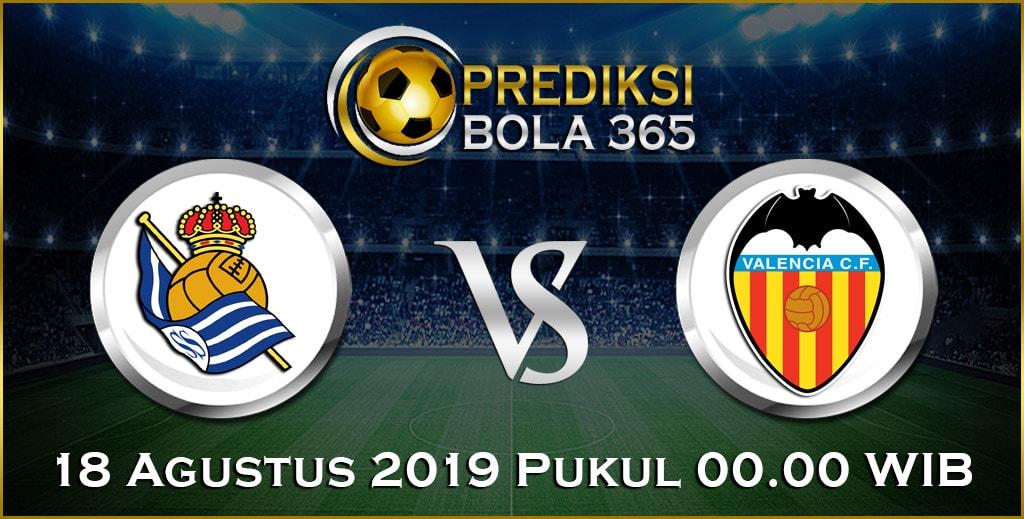 Prediksi Skor Bola Valencia vs Real Sociedad 18 Agustus 2019