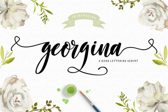 Georgina Script Font