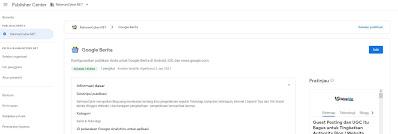 Publisher Center untuk Tambah Berita Google News
