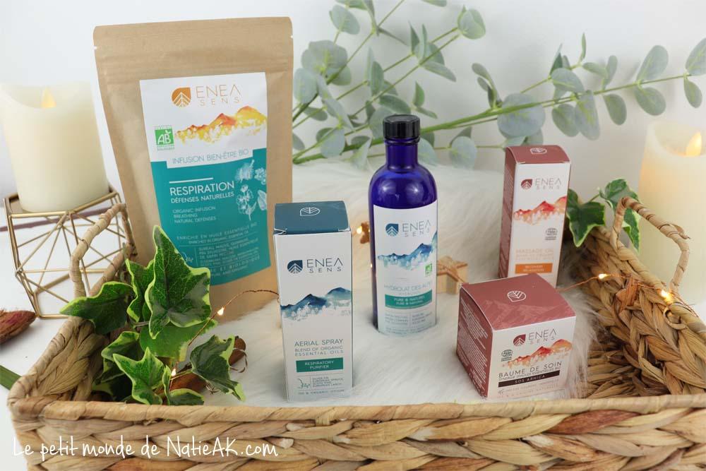 Enea sens soins aromathérapie bio