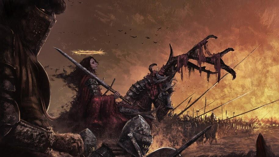 Knight, Army, Fantasy, 4K, #4.997