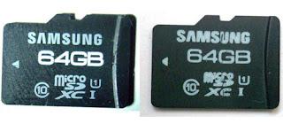 Membedakan Mikro SD Palsu dan Asli