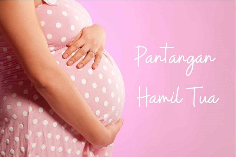 pantangan hamil tua pic by canva premium
