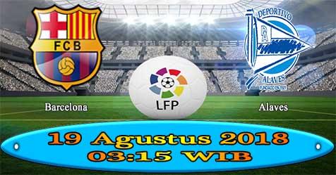Prediksi Bola855 Barcelona vs Alaves 19 Agustus 2018