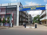 Lowongan Dosen Program Studi Ilmu Komputer Universitas Muhammadiyah Metro