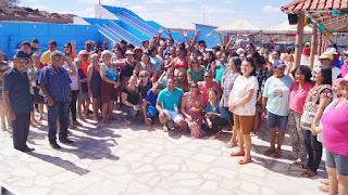 Prefeito Olivânio Remígio e secretária Keiles Lucena abrem oficialmente a 'colônia de férias 2018'.