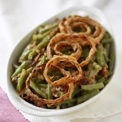green bean casserole without any canned ingredients