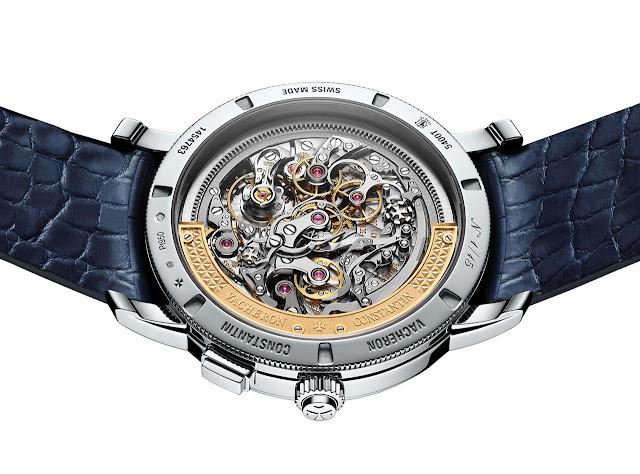 Vacheron Constantin Traditionnelle split-seconds chronograph ultra-thin 5400T/000P-B637