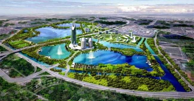 Không gian dự án Gamuda City.