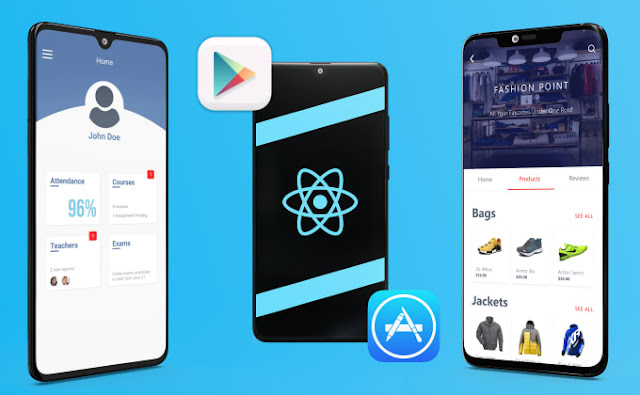 Develop a cross platform app using react native - mobile apps inspiration - mobile apps development