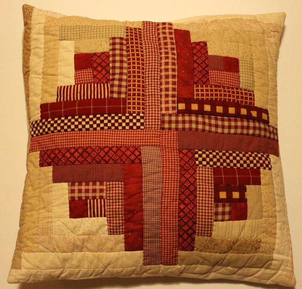 grimmskram log cabin kissen. Black Bedroom Furniture Sets. Home Design Ideas