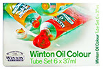 winton oil color set 6
