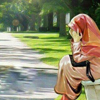 wanita bersedih dan menangis
