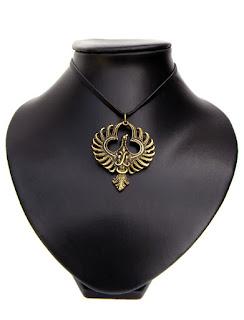 купить феникс медальон бронзовое украшение птица феникс симферополь