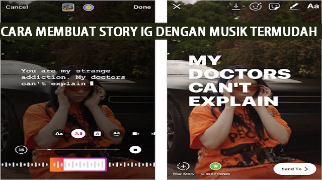 Cara Membuat Story IG dengan Musik