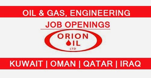 ORION OIL AND GAS , ENGINEERING COMPANY JOB OPENINGS | OMAN