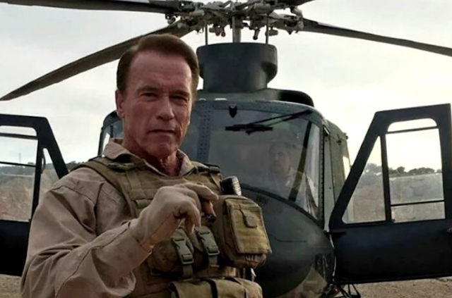 Eco-Hypocrite Arnold Schwarzenegger Promotes Gas Guzzling Helicopter Ride over L.A. While Suing Oil Companies for 'Murder'