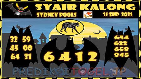 Prediksi Togel Kalong Sidney Sabtu 11 September 2021