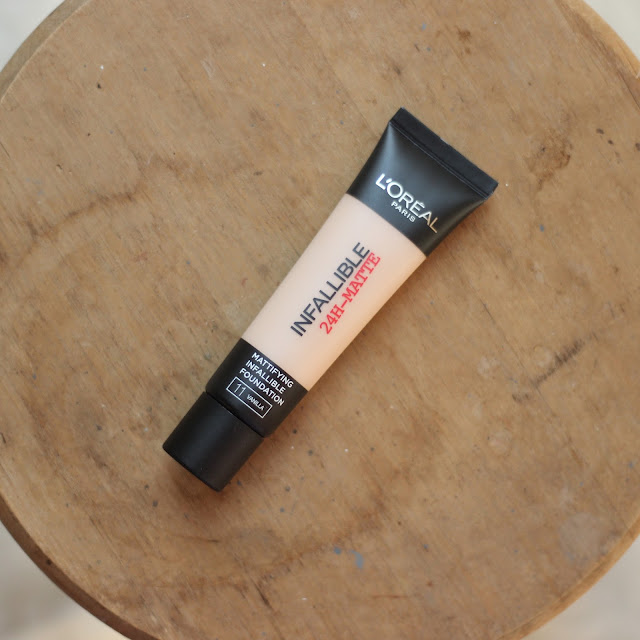 review l'oral infallible 24H matte foundation