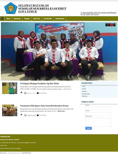 Jasa Pembuatan Blog Sekolah Murah