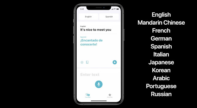 Source : Apple | iOS 14 Update - Translate new feature