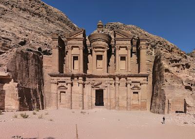 Kota Kuno Petra Di Jordania Yang Menyimpan Misteri