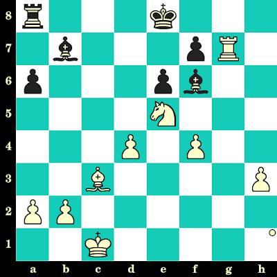 Les Blancs jouent et matent en 2 coups - Maria Fernandez vs Olga Hincu, Tromsoe, 2014