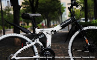 Sepeda Gunung Lipat Doppelganger 703 Laidback 26 Inci