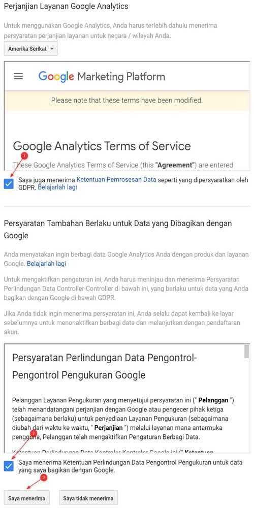 Cara Mendaftar Google Analytics
