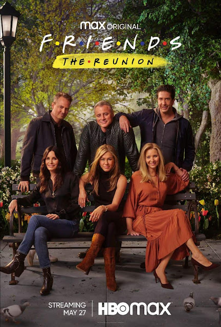 Film Geek Guy - HBO Max - Friends The Reunion Poster