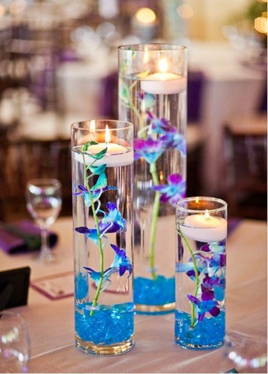 wedding Submerged flower centerpieces ideas cheer to your dining table
