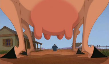 Maggie's udders Home on the Range 2004 animatedfilmreviews.filminspector.com