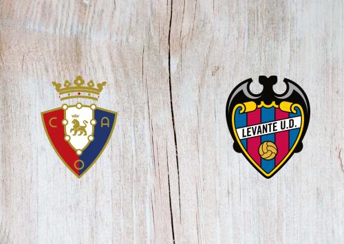 Osasuna vs Levante -Highlights 27 September 2020