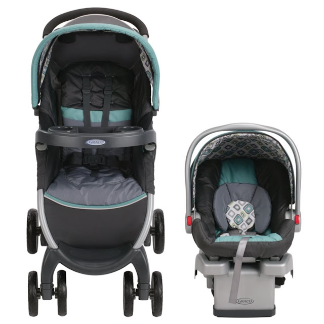 Amazon: Graco FastAction Fold Click Connect Travel System Stroller only $99 (reg $200) Shipped!