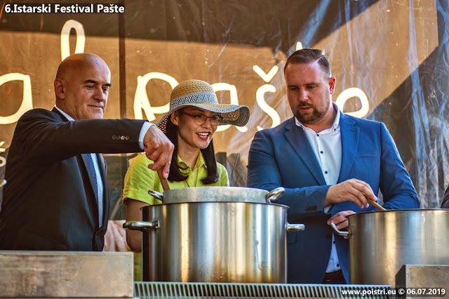 6. Istarski festival pašte u Žminju @ otvorenje 06.07.2019
