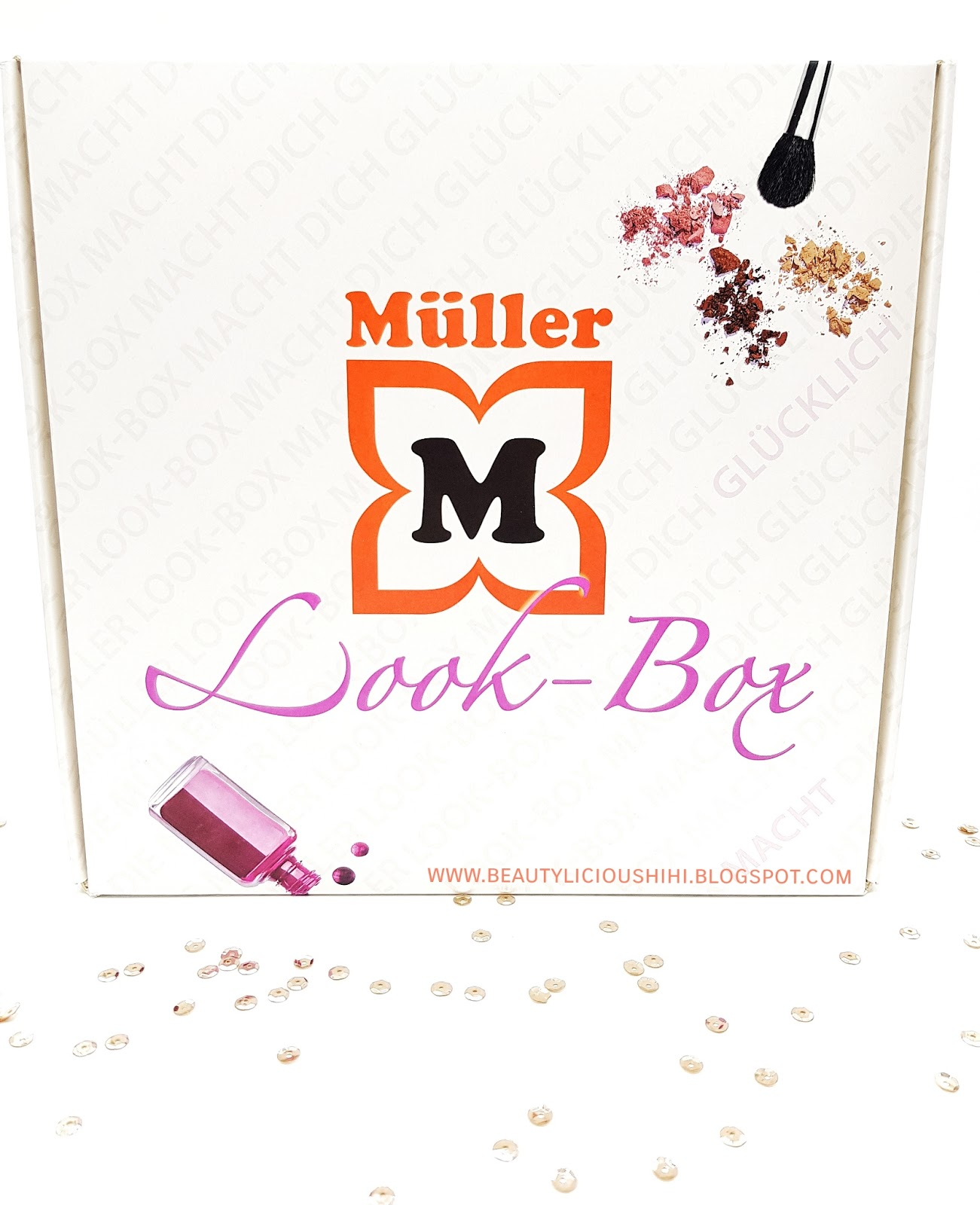 """Beauty. ♥: Müller Look-Box """"Happy Moments"""" [Unboxing]"""