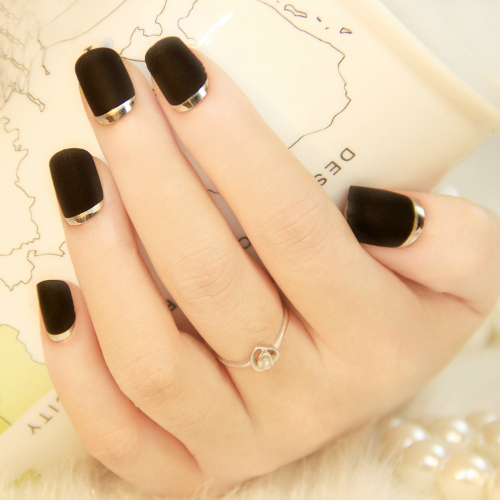 One manicure trend to try. French manicure variation