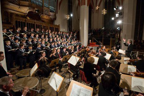 Thomanerchor Leipzig, Gewandhausorchester Leipzig, Gotthold Schwarz
