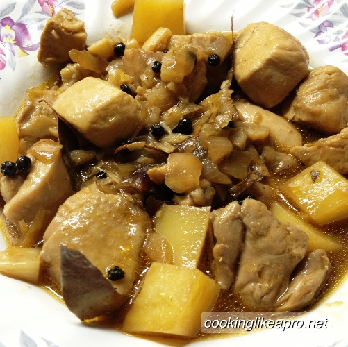 Cooking Adobo Chicken Recipe
