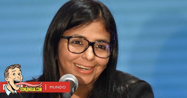 DESCARADA   Delcy la Fea anuncia 200 muertos por Covid en Venezuela