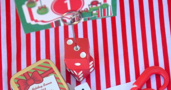 Fun Christmas Holiday Bunco Party Ideas | Party Ideas | Party ...