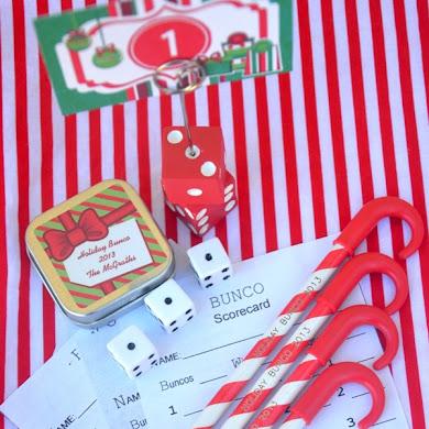 Fun Christmas Holiday Bunco Party Ideas