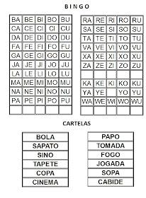 Aprendizagem E Alfabetizacao Alfabetizacao Jogo Do Bingo
