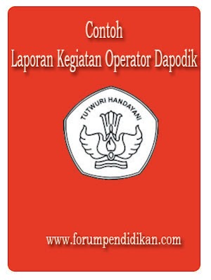 Contoh Laporan Operator Dapodik