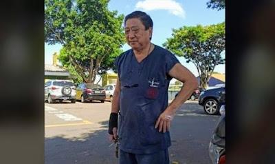 Médico Jorge Karigyo. Café com Jornalista